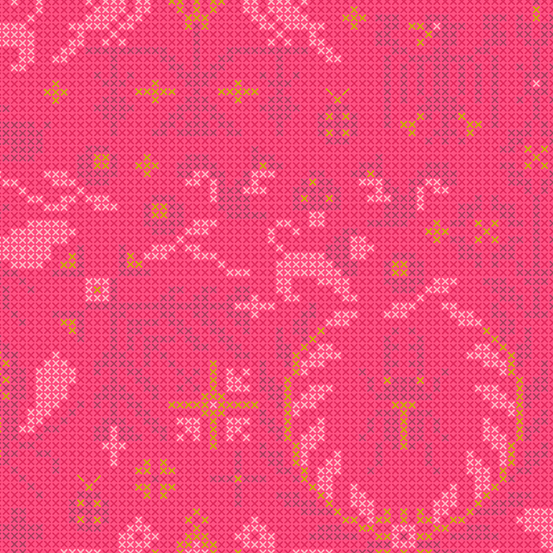 Sun Print 2020 Crosstitch 9387-E Red