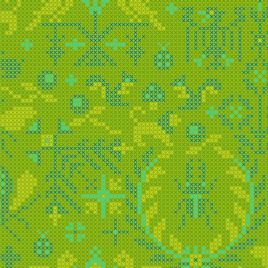 Sun Print 2020 Crosstitch 9387-Green