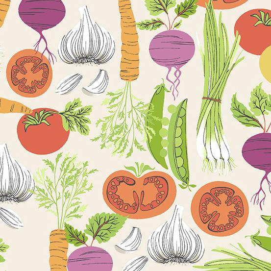 Farm to Fabric - Smorgasbord A-9390-L - by Andover Fabrics