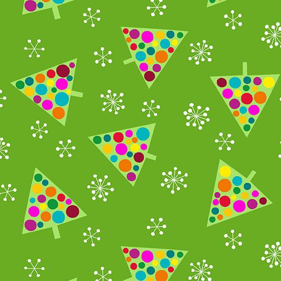 A 9397 G Very Merry by Kim Schaefer for Andover Fabrics. 100% cotton 43 wide
