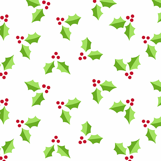 Very Merry Holly Leaves