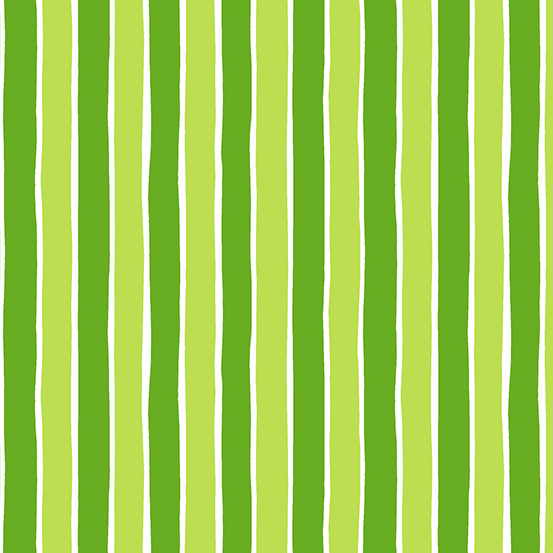 Very Merry Green Stripes