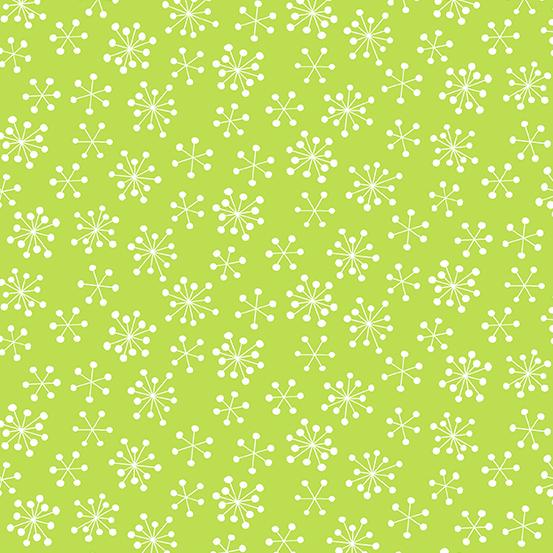 Very Merry Green/Snowflake