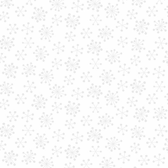 Very Merry White Snowflake