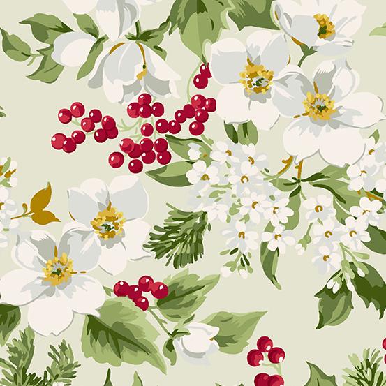 Winter Rose A-9418-L Cream