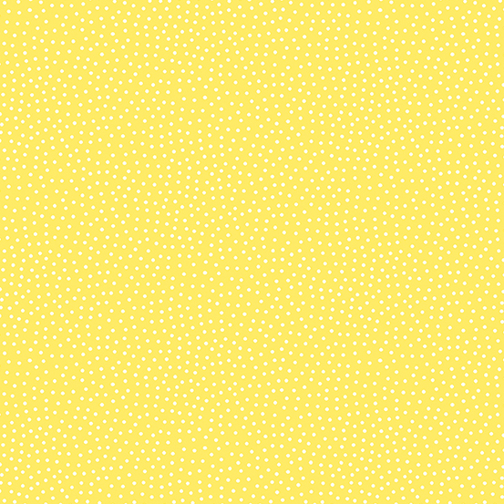 570709 Sunny Bee A-9436-Y Yellow with White Pin Dot