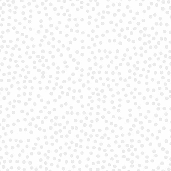 Andover Holiday Treats Dots - White