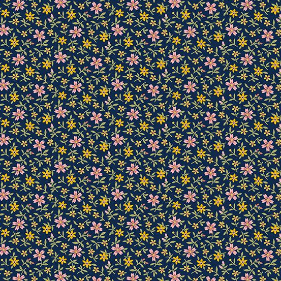 Mayflower Tiny Floral Blue A-9509-B