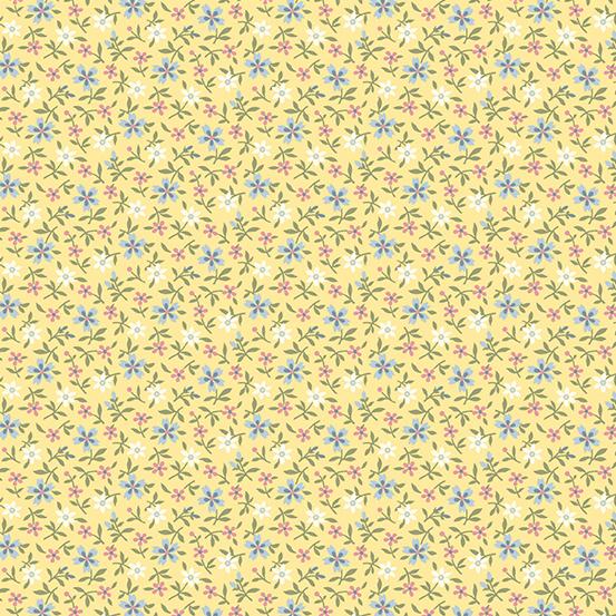 Mayflower Tiny Ylw Floral A-9509-Y
