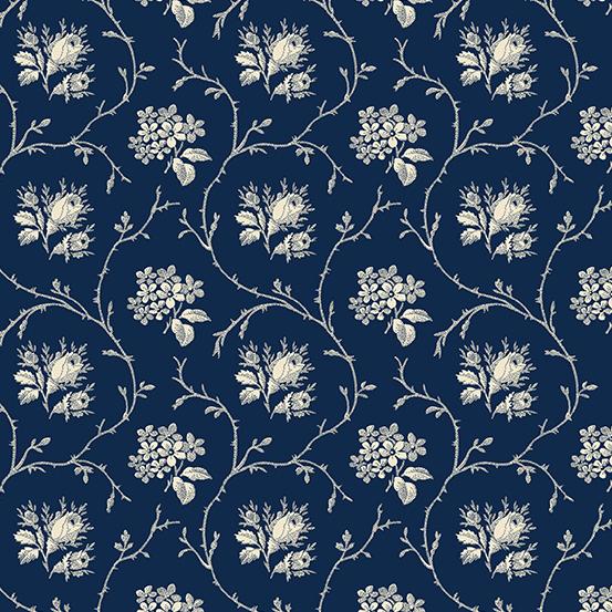 Mayflower Blue Floral A-9510-B
