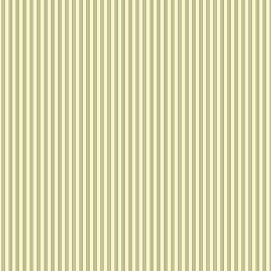 Mayflower Stripes Green A-9512-G
