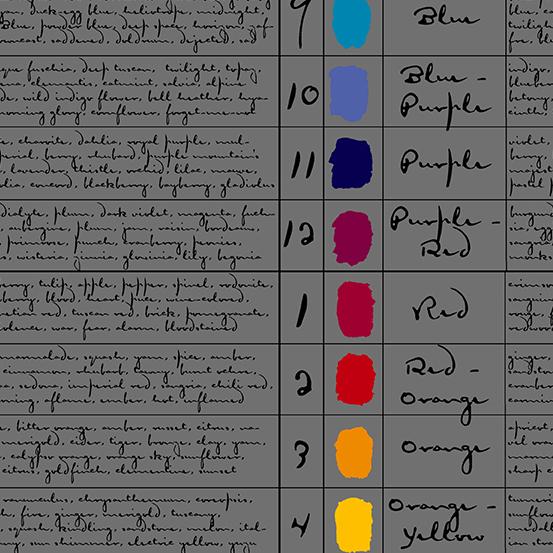 Andover Prism A-9571-C Charcoal-Colors