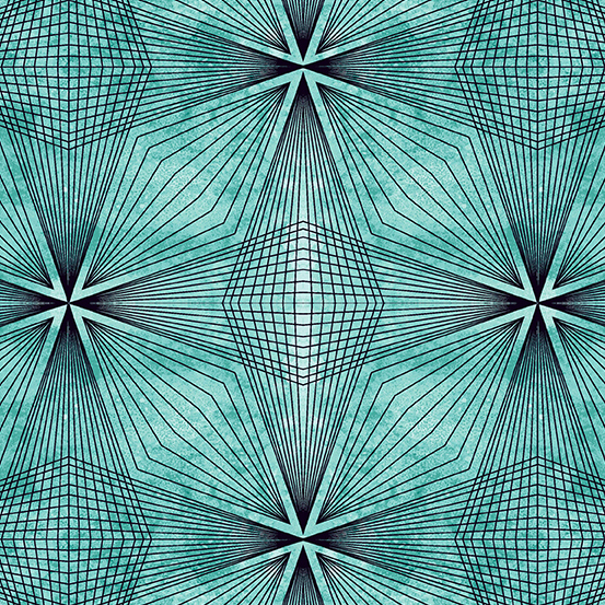 Prism - Prism, Aquastone A-9576-T - by Giucy Giuce for Andover Fabrics