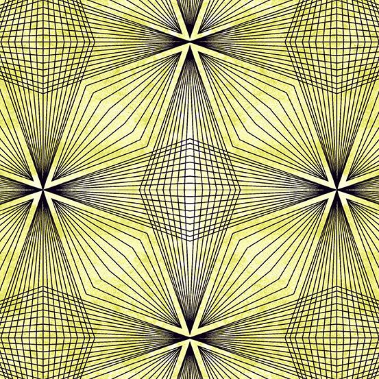 Prism - Prism, Celery A-9576-V - by Giucy Giuce for Andover Fabrics
