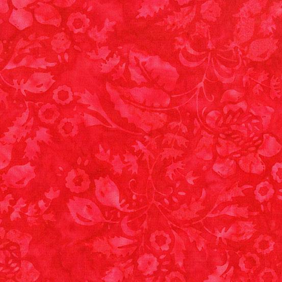 A Splash of Color - Secret Garden - Red
