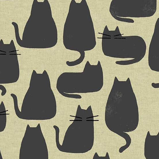 Whiskers/Chat Gris (Canvas): Home (Sarah Golden)