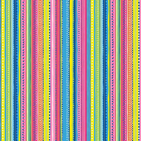 Ellie Dotty Stripe Bright