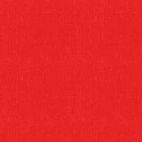 Makower UK Linen Texture TP-1473-R Red
