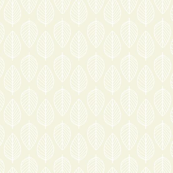 Essentials - Leaf - Light Cream
