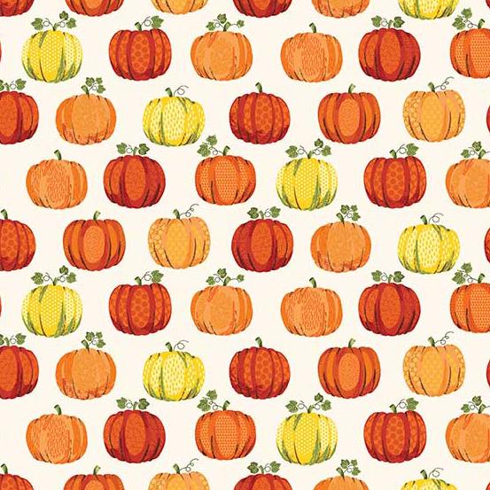 Good Life Pumpkins on White ground