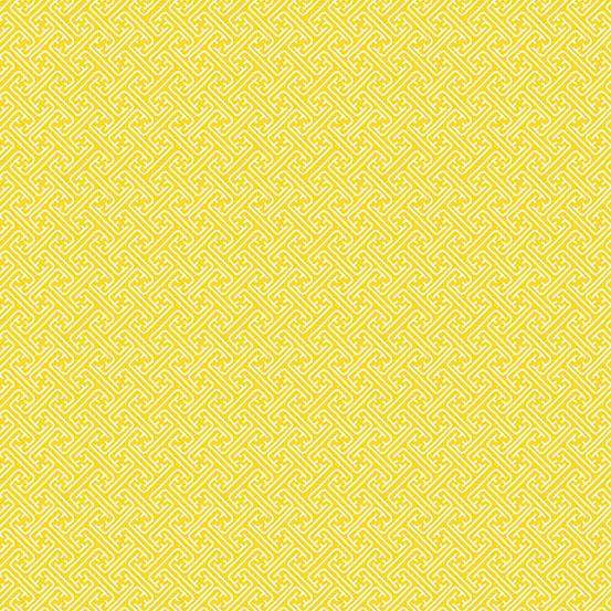 Andover Fern Garden Lattice Yellow
