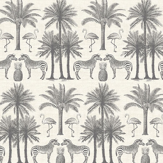 Fern Garden - Palm Grey