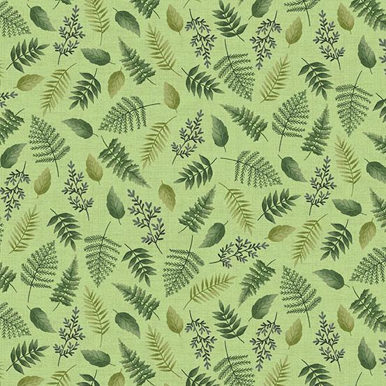 Andover Fern Garden Leaf Green