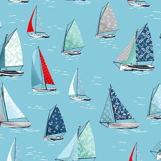 Sea Breeze Yachts Blue