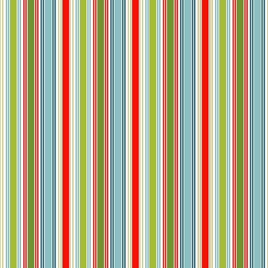 Holiday Stripe, Joy by  Andover Fabrics