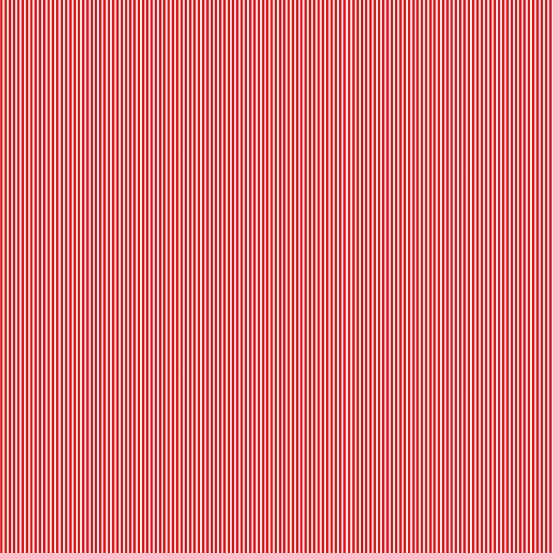 Pin Stripe - Red