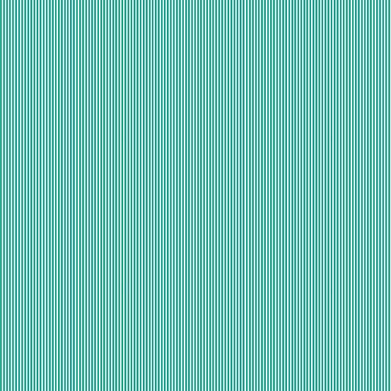 Pin Stripe - Teal