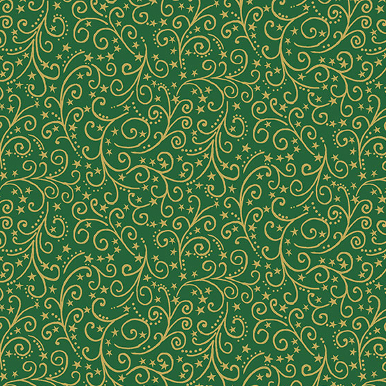 12 Days of Christmas TP-2097-G Green Scroll