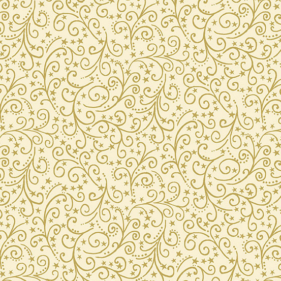 12 Days of Christmas TP-2097-Q Cream Scroll