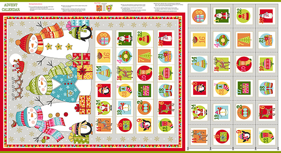 Festive TP-2106-1 Multi Festive Advent Calendar