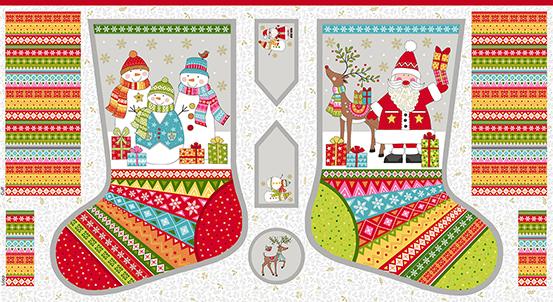 Festive Multi Festive Stockings