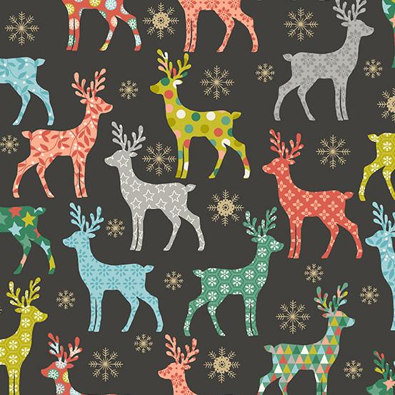 Merry Reindeer Silver