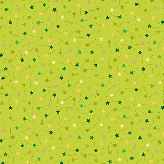 Festive - Shooting Stars Green
