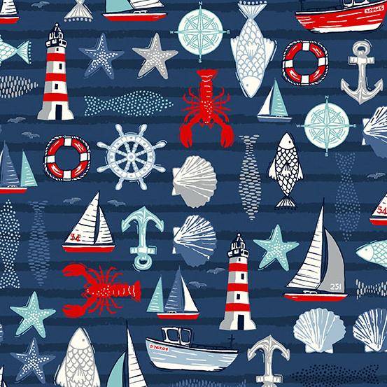 Sail Away Icons - Blue - MK2207B