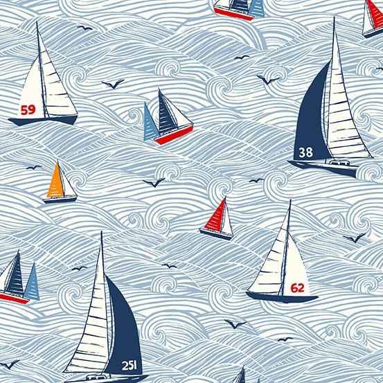 Sail Away Seascape - Multi - MK2208