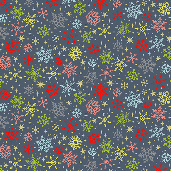 Joy Snowflakes GREY