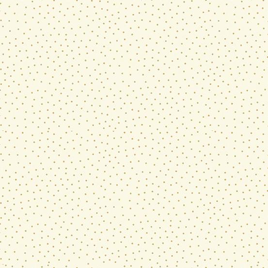 Makower UK Yuletide TP-2247-Q Metallic Cream Spot