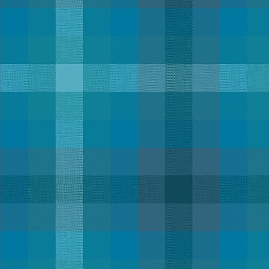Kaleidoscope - Stripes and Plaids WV-9541-DENIM