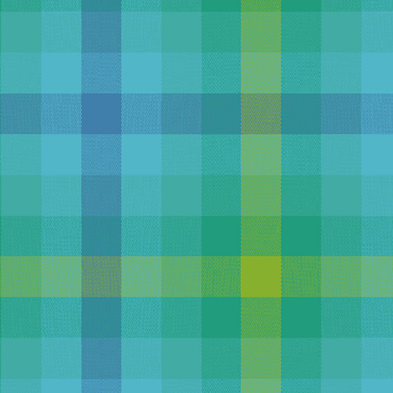 Kaleidoscope - Stripes and Plaids WV-9541-TEAL