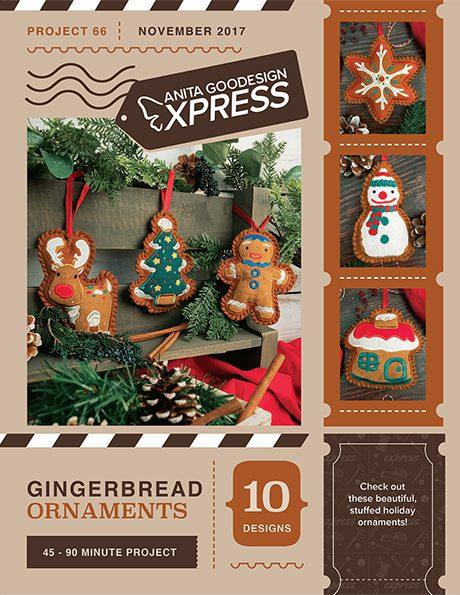 Anita's Express - Gingerbread Ornaments