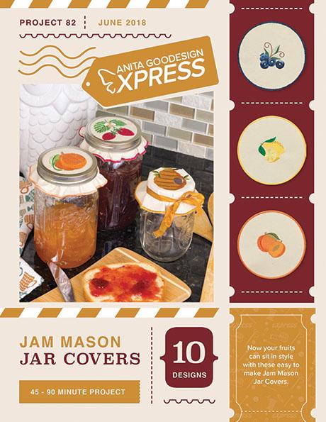 Anita's Express - Jam Mason Jar Covers
