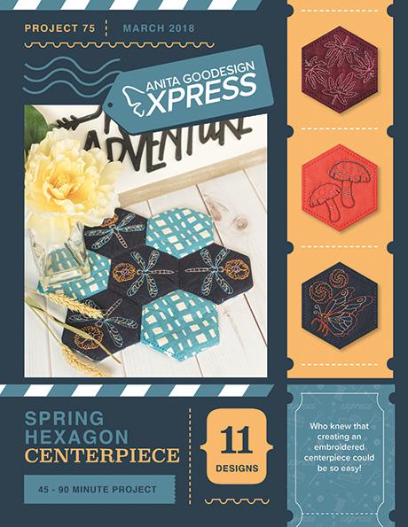 Anita's Express - Spring Hexagon Centerpiece