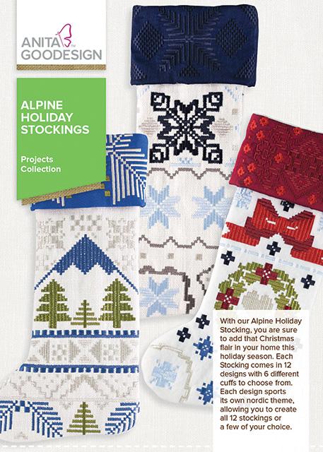 Alpine Holiday Stockings