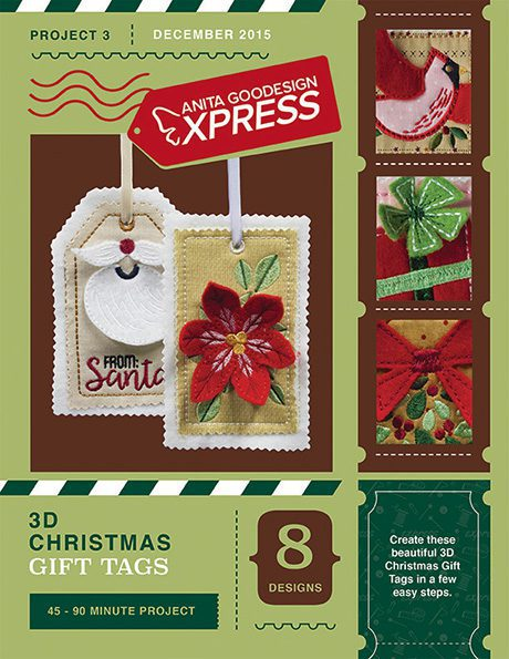 Anita's Express - 3D Christmas Gift Tags