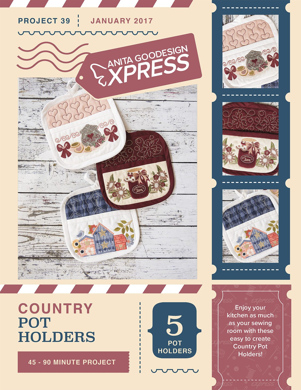 Country Pot Holders