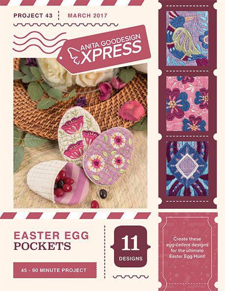 Anita's Express - Easter Egg Pockets